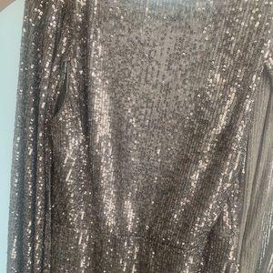 Topshop bling dress